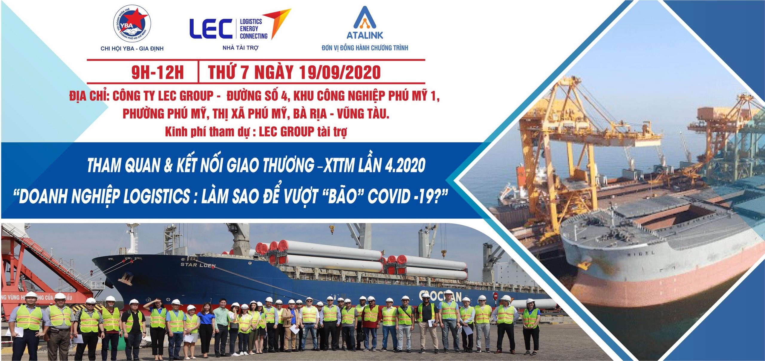 LEC Group welcomed the delegation of YBA Gia Dinh -