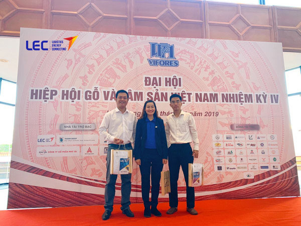 LEC GROUP attended the Congress of Vietnam Timber and Forest Products Association Term IV (2019 - 2024)